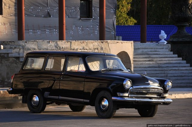 коллекция катафалков волга ГАЗ 21