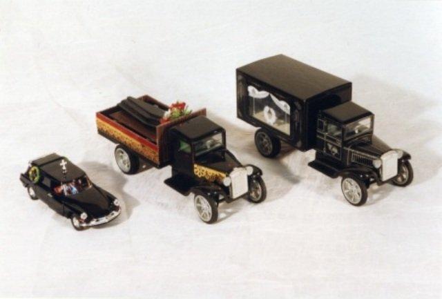 коллекция катафалков 07 в музее Новосибирск