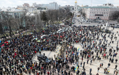 Mass protests in Kyiv puts city of 3 million in danger while subway was suspended - Похоронный портал