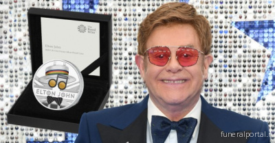 Sir Elton John honoured by Royal Mint on £1,000 gold coin - Похоронный портал