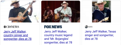 Jerry Jeff Walker, Singer-Songwriter Known for 'Mr. Bojangles,' Dies at 78 - Похоронный портал