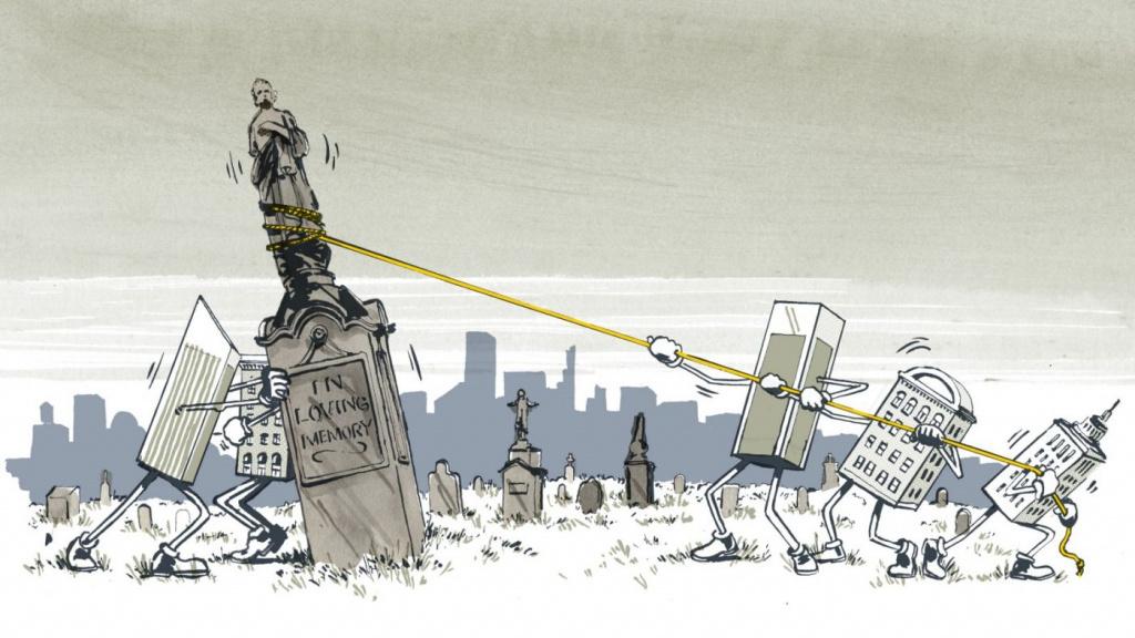 Ведомости. Как сделать российские кладбища современными - Похоронный портал