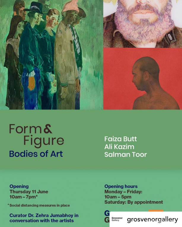 'Form & Figure: Bodies of Art' at Grosvenor Gallery