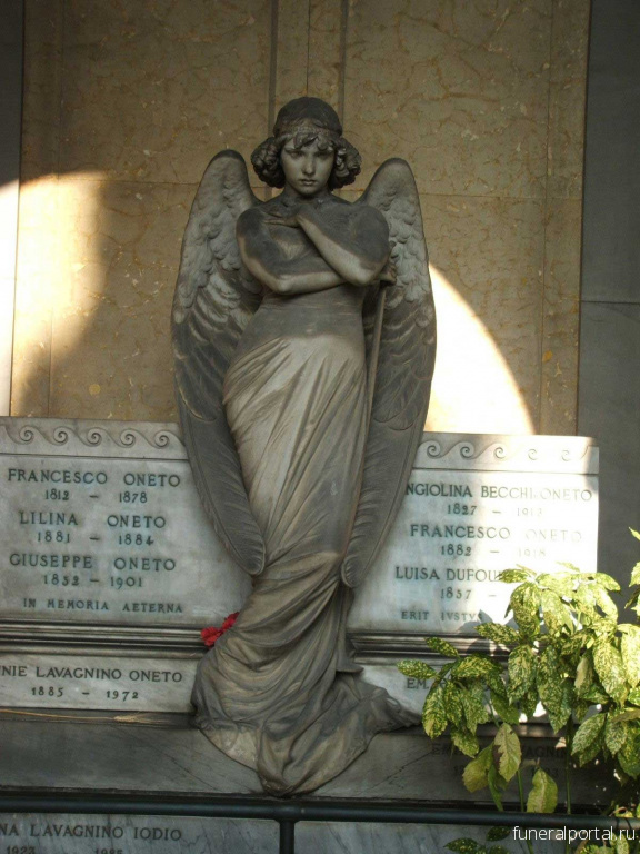 "Genova, Italy: Monteverde Angel. The ""Mona Lisa"" of funerary art."