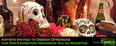 Artists Invited to Design Ofrendas for DIA Exhibition Honoring Dia de Muertos - Похоронный портал