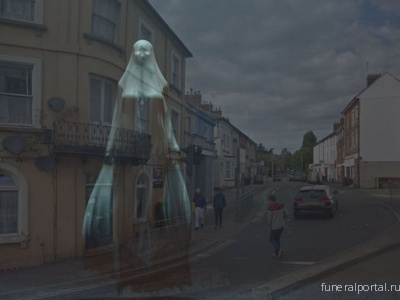 The story behind a scary ghost that wandered Yeovil's streets and terrorised local children - Похоронный портал