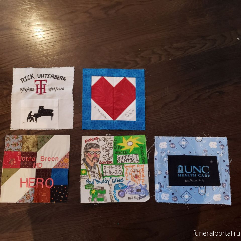 Stitching 'HOPE': Woman creates quilt to honor coronavirus victims and front-line workers