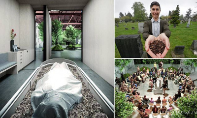 Recompose, the first human-composting funeral home in the U.S., is now open for business - Похоронный портал