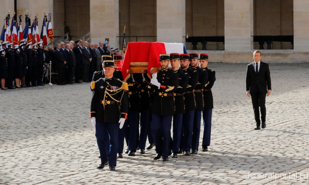 France mourns Jacques Chirac with funeral and ceremonies - Похоронный портал