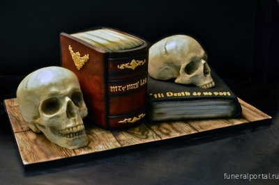 These Made-to-Order Cakes Look Like Beautiful Nightmares - Похоронный портал