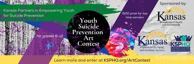 Kansas announces new youth art contest aimed at suicide prevention - Похоронный портал