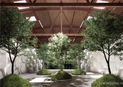Olson Kundig unveils Recompose Seattle facility for composting human bodies - Похоронный портал