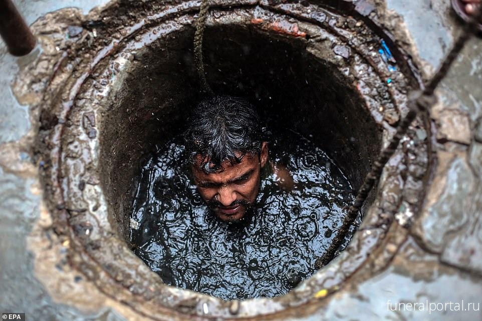 Последний вдох: работники коммунальных служб гибнут в канализации - Похоронный портал