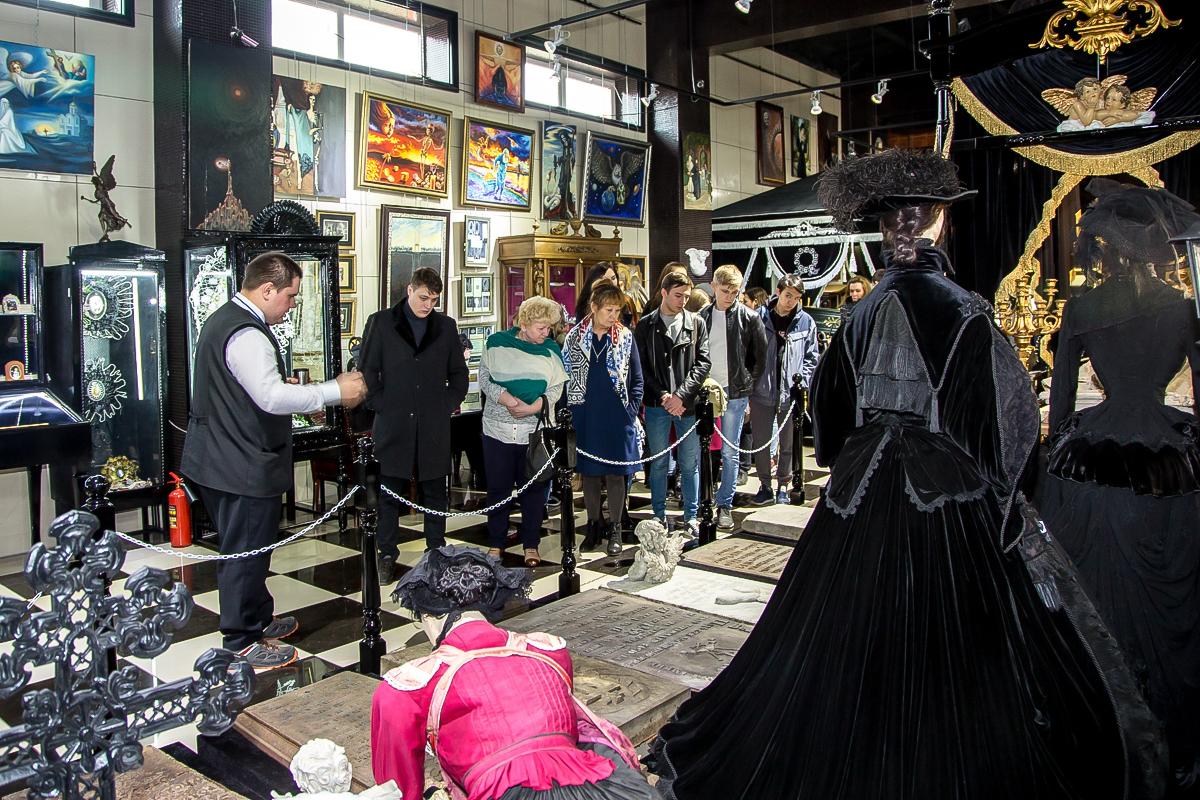 Новосибирский музей смерти поставил рекорд