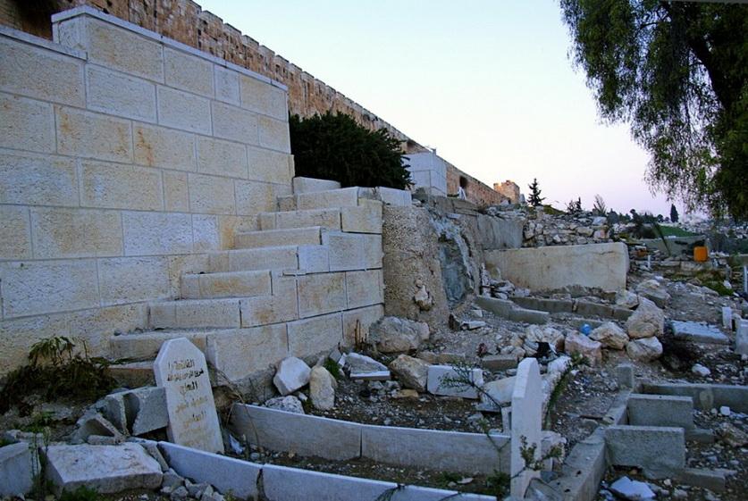 9 мусульманское кладбище
