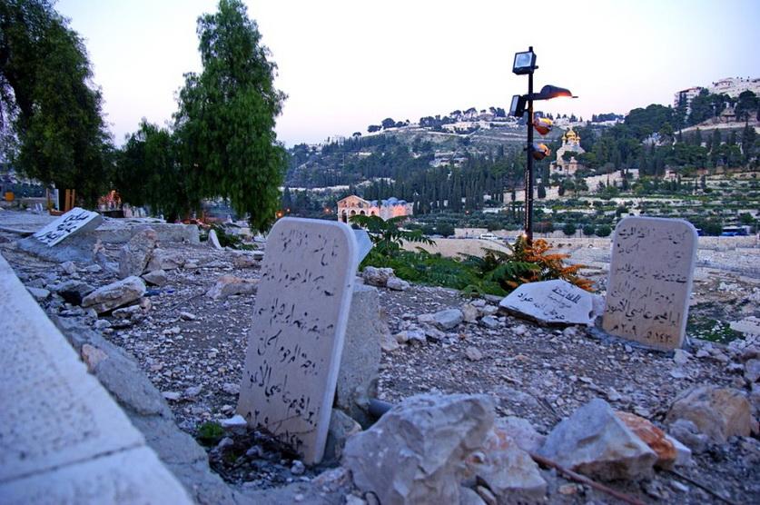 10 мусульманское кладбище